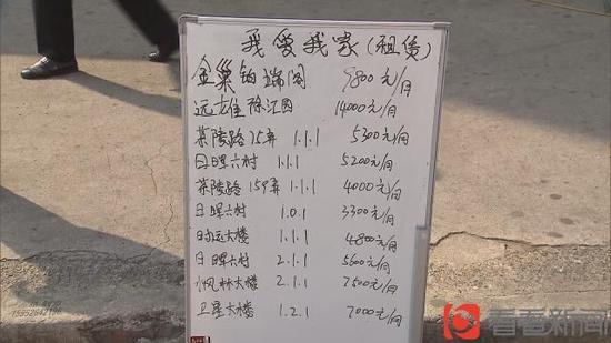 上海40平米老公房租价4800元 房东:自己都觉得贵