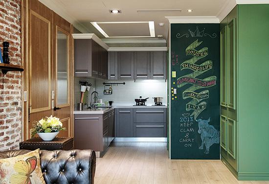 /DIY打造居家黑板涂鸦墙15个案例精图细化