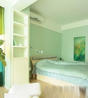 三居室装修效果图 清新的典雅风格